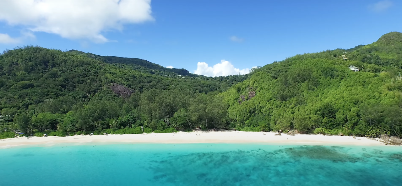 Plage Seychelles - Anse Intendance