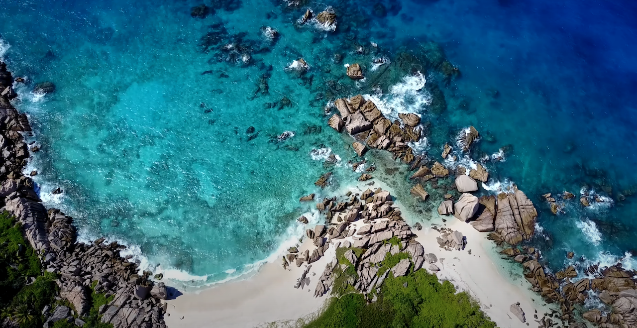 Plage Seychelles - Anse Marron