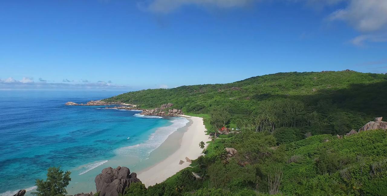 Plage Seychelles - Petite et Grande anse