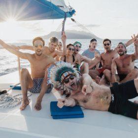 Croisière catamaran célébrez