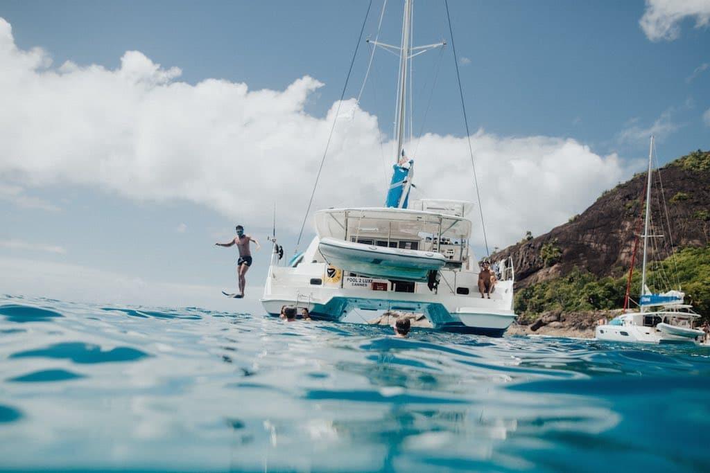 Croisière Catamaran Corse Sardaigne Snorkeling