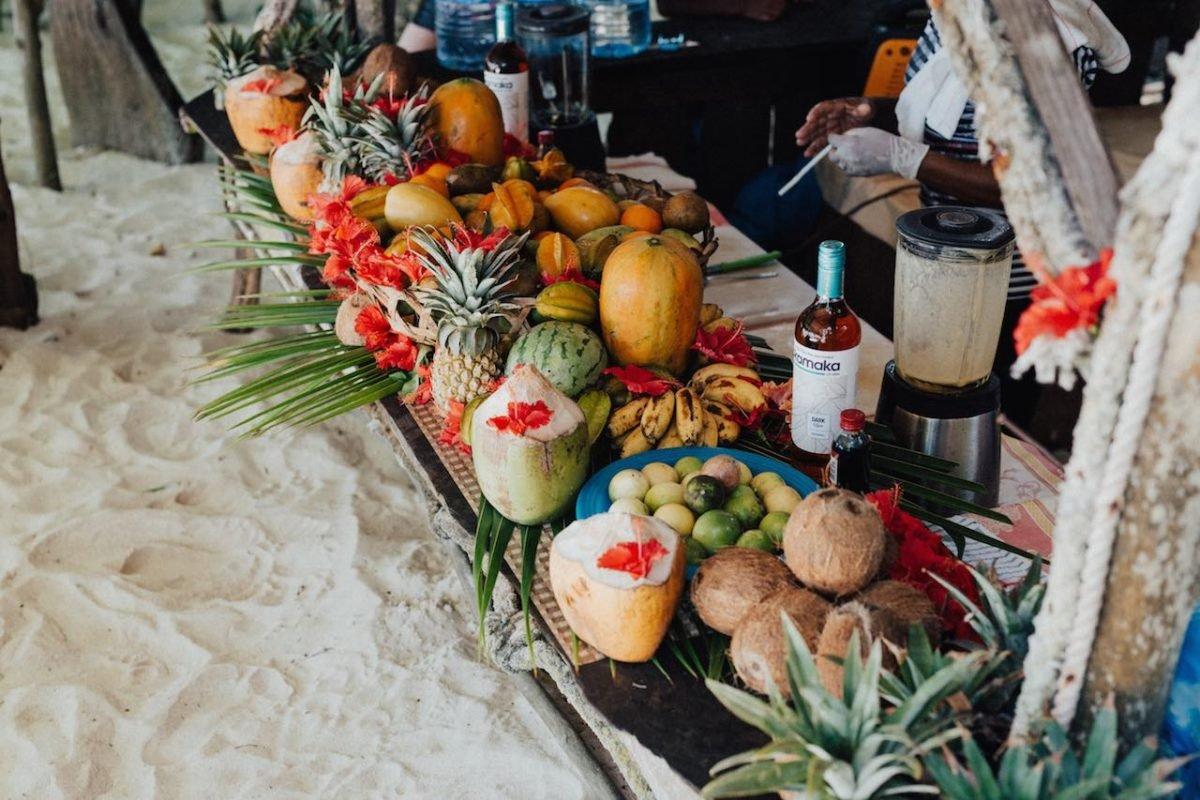 Croisière catamaran Seychelles cuisine