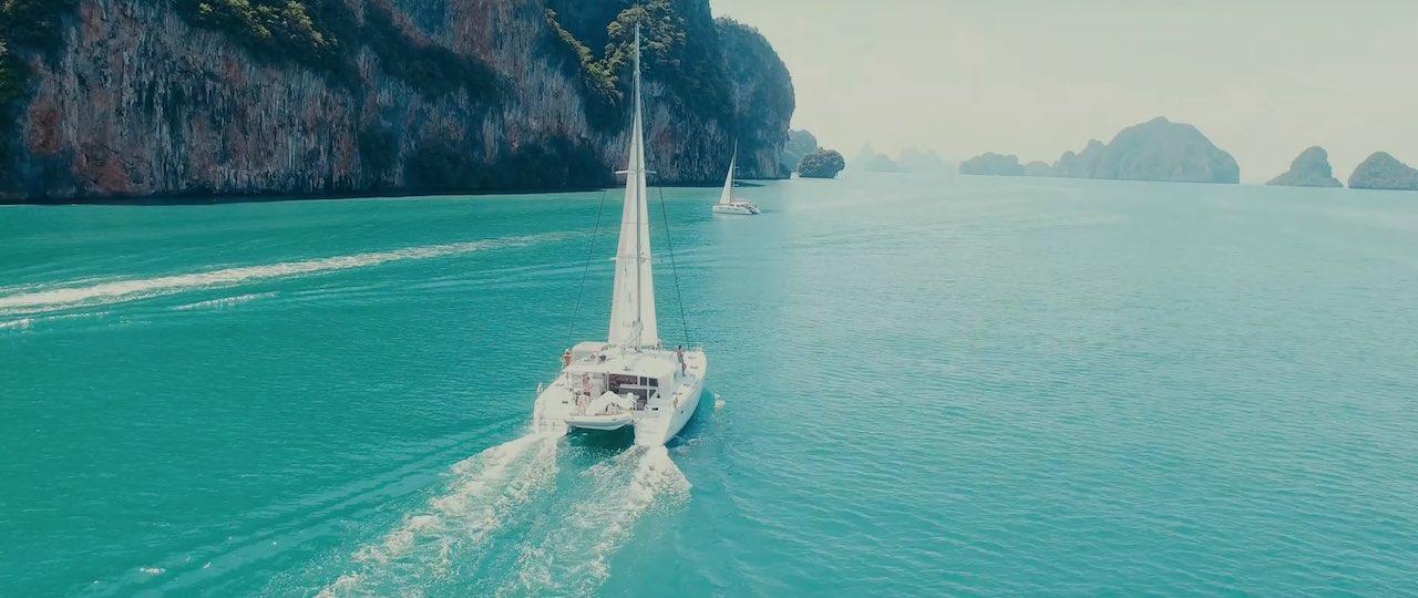 Croisiere Thaïlande catamaran