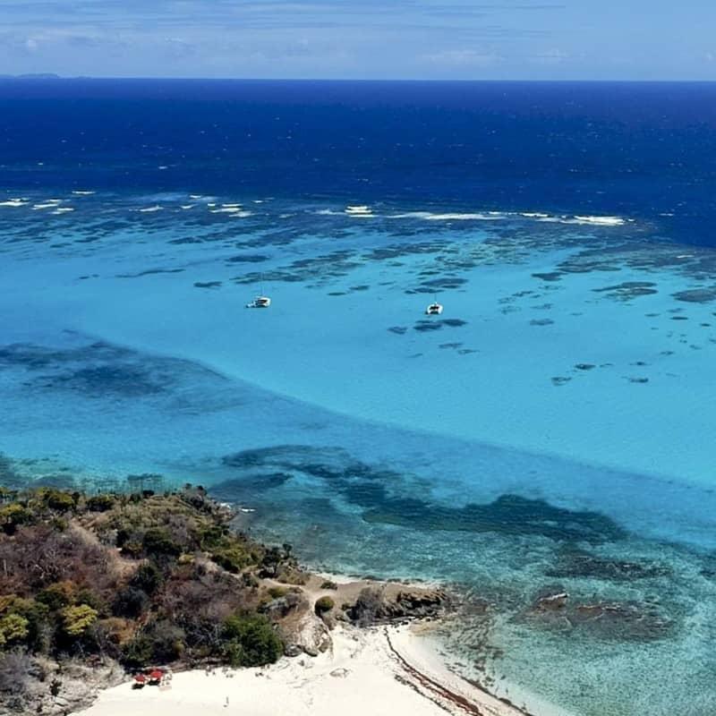 Croisiere Catamaran Grenadines - Tobago Cays